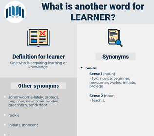 learner, synonym learner, another word for learner, words like learner, thesaurus learner