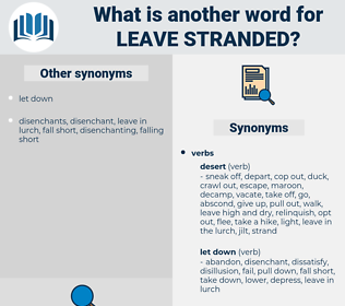 leave stranded, synonym leave stranded, another word for leave stranded, words like leave stranded, thesaurus leave stranded