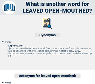 leaved open-mouthed, synonym leaved open-mouthed, another word for leaved open-mouthed, words like leaved open-mouthed, thesaurus leaved open-mouthed