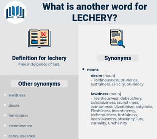 lechery, synonym lechery, another word for lechery, words like lechery, thesaurus lechery
