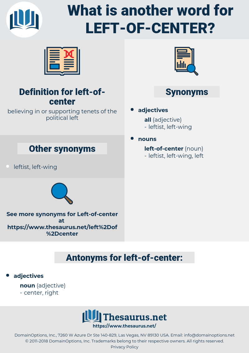 left of center, synonym left of center, another word for left of center, words like left of center, thesaurus left of center