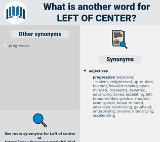 left-of-center, synonym left-of-center, another word for left-of-center, words like left-of-center, thesaurus left-of-center