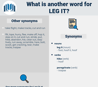 leg it, synonym leg it, another word for leg it, words like leg it, thesaurus leg it