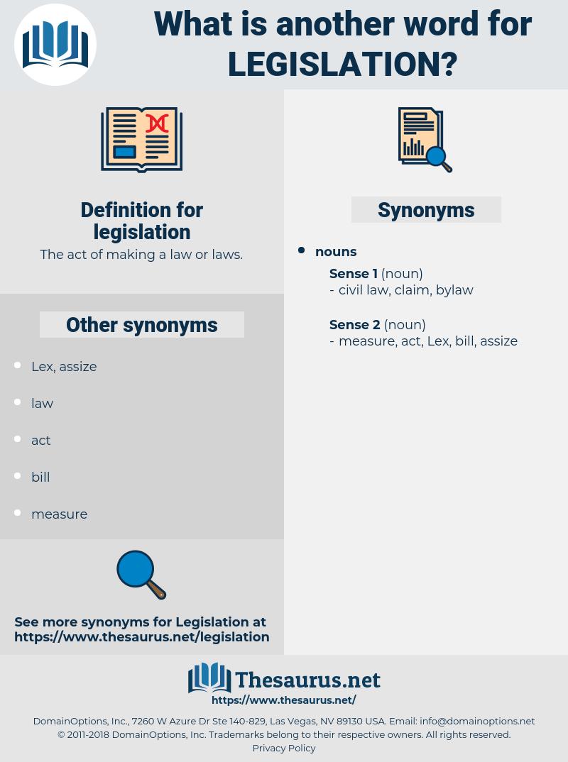 legislation, synonym legislation, another word for legislation, words like legislation, thesaurus legislation