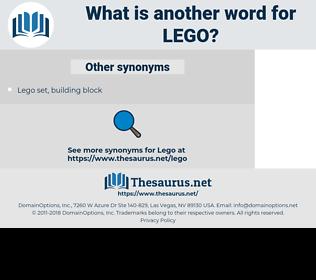 Lego, synonym Lego, another word for Lego, words like Lego, thesaurus Lego