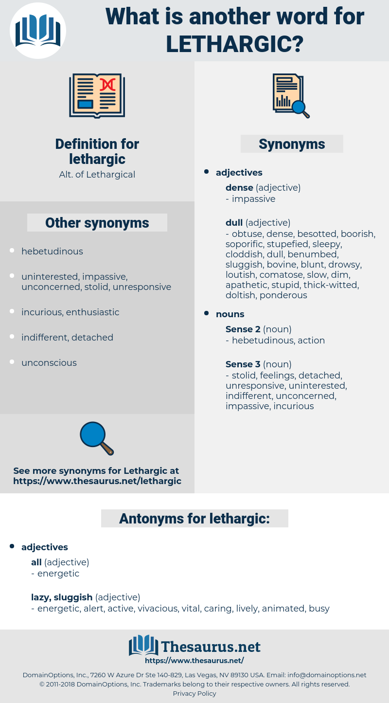 lethargic, synonym lethargic, another word for lethargic, words like lethargic, thesaurus lethargic