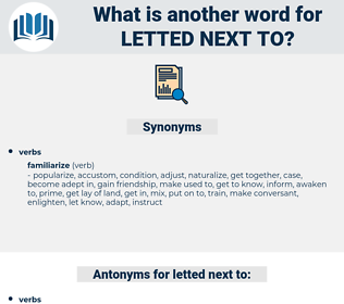 letted next to, synonym letted next to, another word for letted next to, words like letted next to, thesaurus letted next to