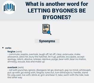 letting bygones be bygones, synonym letting bygones be bygones, another word for letting bygones be bygones, words like letting bygones be bygones, thesaurus letting bygones be bygones