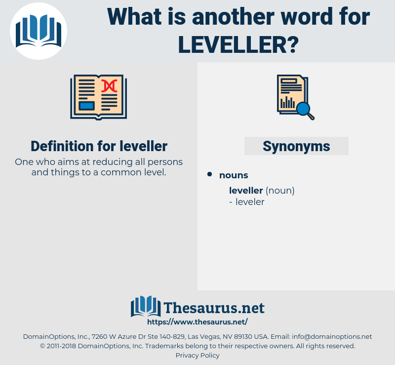 leveller, synonym leveller, another word for leveller, words like leveller, thesaurus leveller