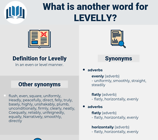 Levelly, synonym Levelly, another word for Levelly, words like Levelly, thesaurus Levelly