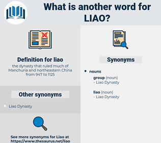 liao, synonym liao, another word for liao, words like liao, thesaurus liao