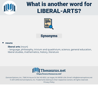 liberal arts, synonym liberal arts, another word for liberal arts, words like liberal arts, thesaurus liberal arts