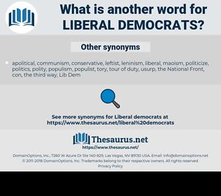 liberal democrats, synonym liberal democrats, another word for liberal democrats, words like liberal democrats, thesaurus liberal democrats