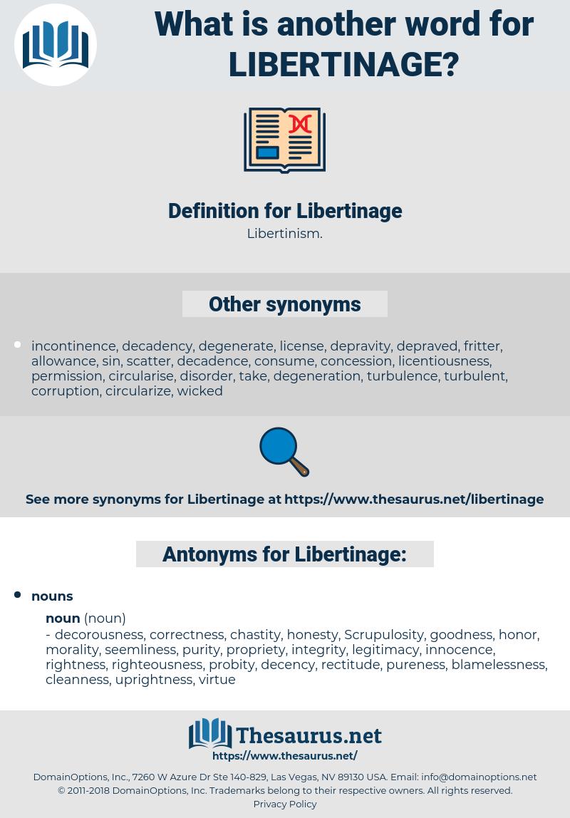 Libertinage, synonym Libertinage, another word for Libertinage, words like Libertinage, thesaurus Libertinage