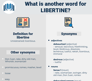 libertine, synonym libertine, another word for libertine, words like libertine, thesaurus libertine