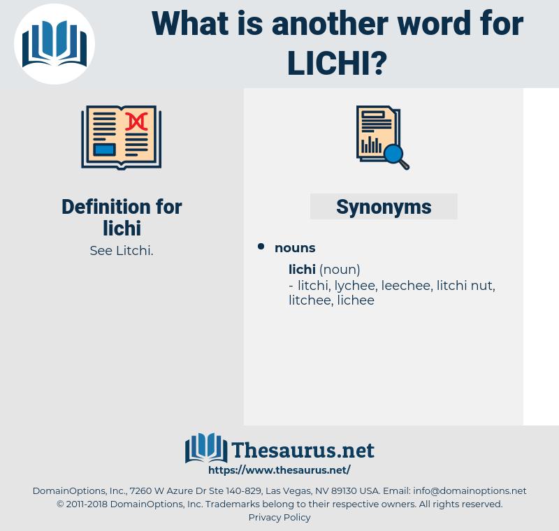 lichi, synonym lichi, another word for lichi, words like lichi, thesaurus lichi