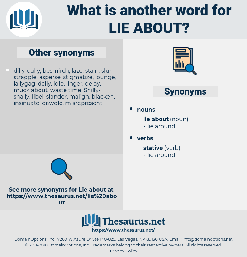 lie about, synonym lie about, another word for lie about, words like lie about, thesaurus lie about