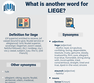 liege, synonym liege, another word for liege, words like liege, thesaurus liege