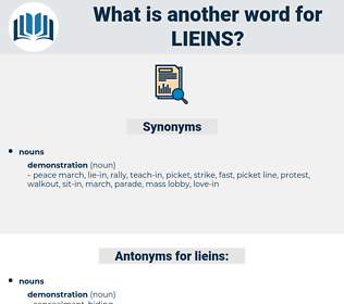 lieins, synonym lieins, another word for lieins, words like lieins, thesaurus lieins
