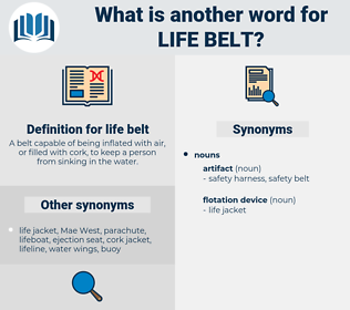 life belt, synonym life belt, another word for life belt, words like life belt, thesaurus life belt