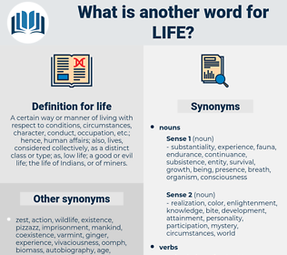 life, synonym life, another word for life, words like life, thesaurus life