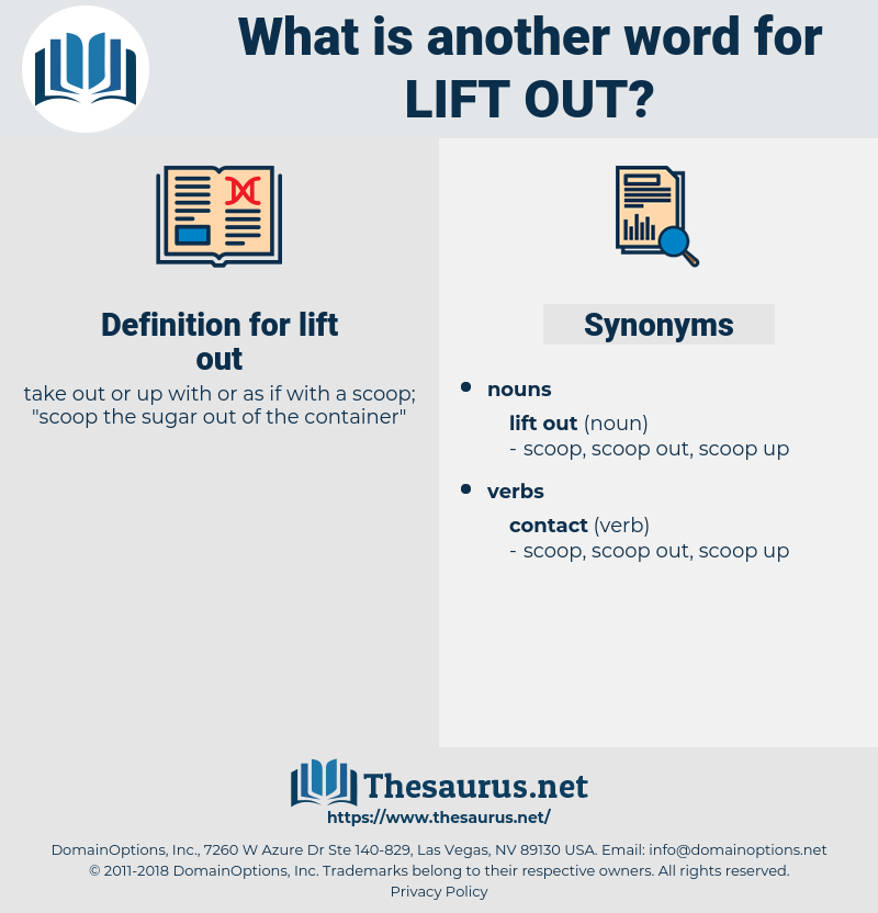 lift out, synonym lift out, another word for lift out, words like lift out, thesaurus lift out