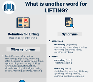 Lifting, synonym Lifting, another word for Lifting, words like Lifting, thesaurus Lifting