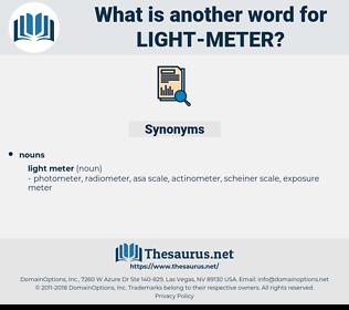 light meter, synonym light meter, another word for light meter, words like light meter, thesaurus light meter