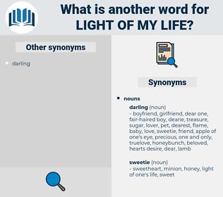 light of my life, synonym light of my life, another word for light of my life, words like light of my life, thesaurus light of my life