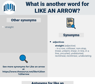 like an arrow, synonym like an arrow, another word for like an arrow, words like like an arrow, thesaurus like an arrow