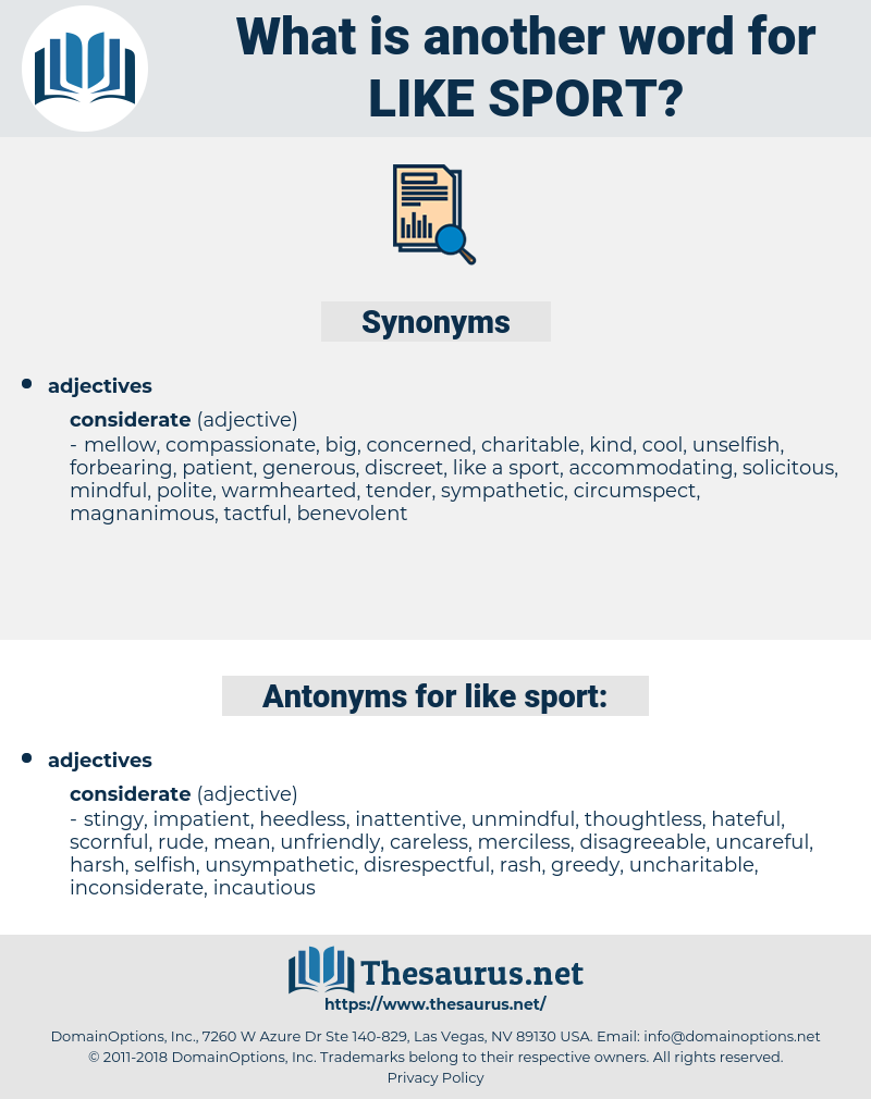 like sport, synonym like sport, another word for like sport, words like like sport, thesaurus like sport