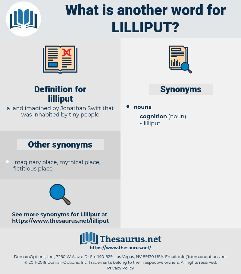 lilliput, synonym lilliput, another word for lilliput, words like lilliput, thesaurus lilliput