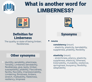 Limberness, synonym Limberness, another word for Limberness, words like Limberness, thesaurus Limberness