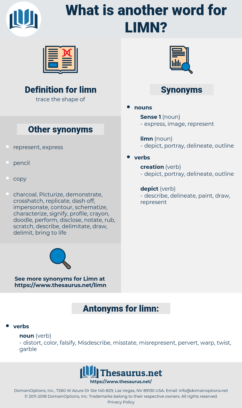 limn, synonym limn, another word for limn, words like limn, thesaurus limn