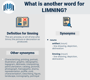 limning, synonym limning, another word for limning, words like limning, thesaurus limning