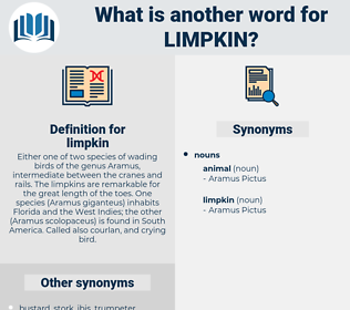 limpkin, synonym limpkin, another word for limpkin, words like limpkin, thesaurus limpkin