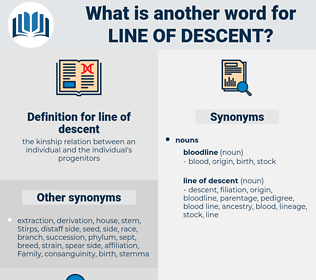 line of descent, synonym line of descent, another word for line of descent, words like line of descent, thesaurus line of descent