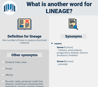 lineage, synonym lineage, another word for lineage, words like lineage, thesaurus lineage