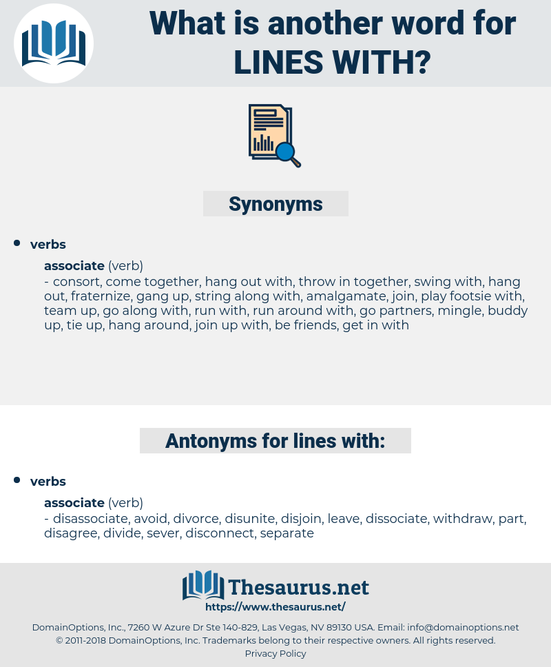 lines with, synonym lines with, another word for lines with, words like lines with, thesaurus lines with