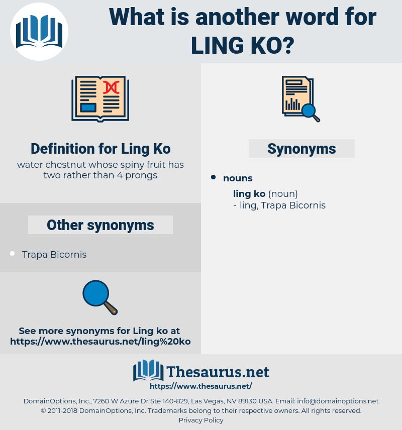 Ling Ko, synonym Ling Ko, another word for Ling Ko, words like Ling Ko, thesaurus Ling Ko