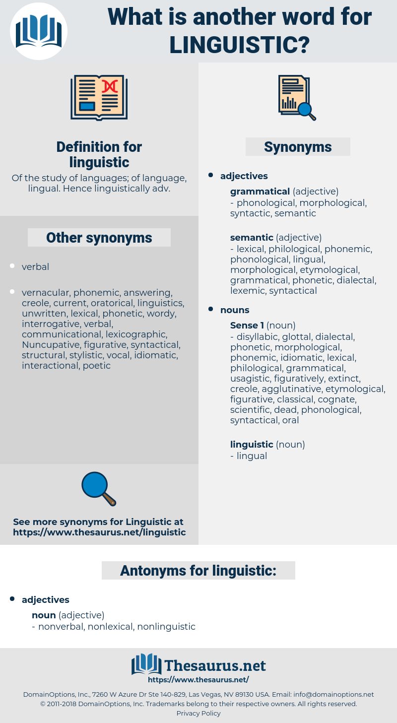 linguistic, synonym linguistic, another word for linguistic, words like linguistic, thesaurus linguistic