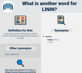 linin, synonym linin, another word for linin, words like linin, thesaurus linin