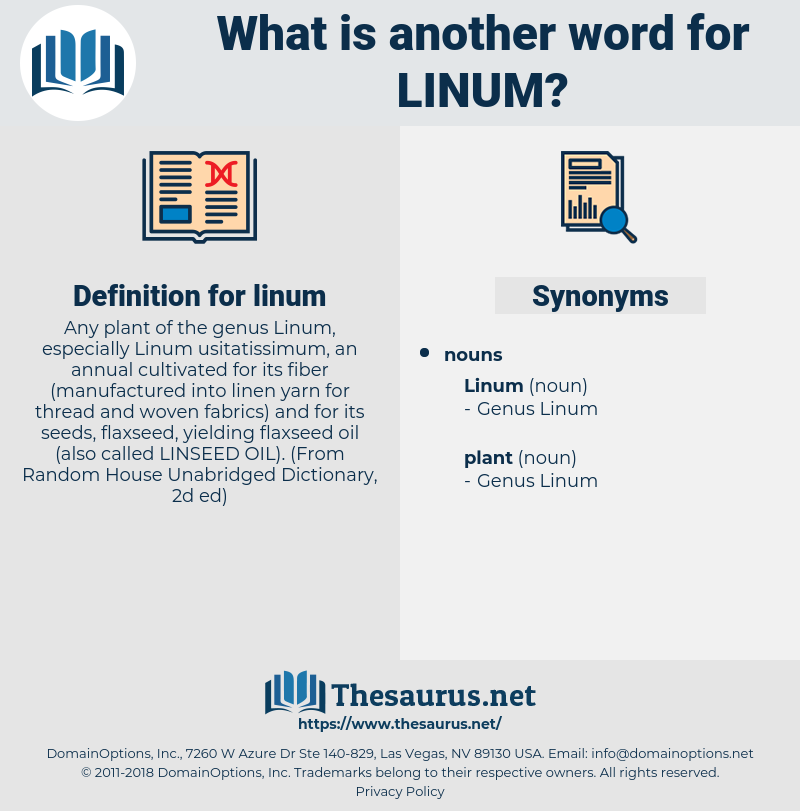 linum, synonym linum, another word for linum, words like linum, thesaurus linum