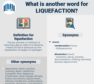 liquefaction, synonym liquefaction, another word for liquefaction, words like liquefaction, thesaurus liquefaction