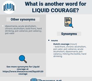 liquid courage, synonym liquid courage, another word for liquid courage, words like liquid courage, thesaurus liquid courage