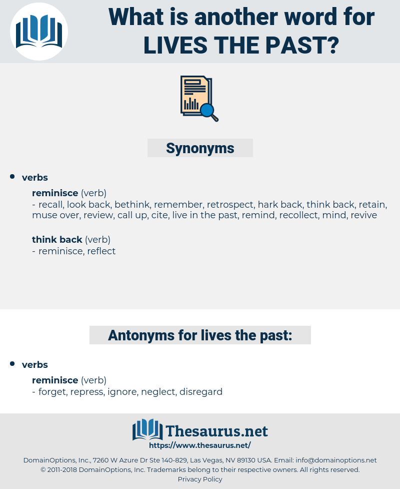 lives the past, synonym lives the past, another word for lives the past, words like lives the past, thesaurus lives the past