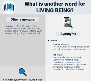 living being, synonym living being, another word for living being, words like living being, thesaurus living being