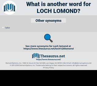Loch Lomond, synonym Loch Lomond, another word for Loch Lomond, words like Loch Lomond, thesaurus Loch Lomond