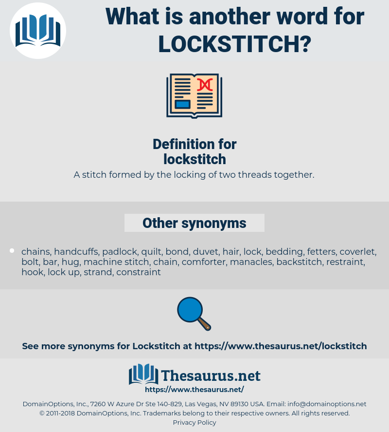 lockstitch, synonym lockstitch, another word for lockstitch, words like lockstitch, thesaurus lockstitch