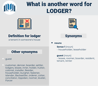 lodger, synonym lodger, another word for lodger, words like lodger, thesaurus lodger